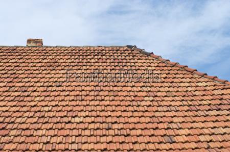 daecher kacheln details vorlage hintergruende dachziegeln