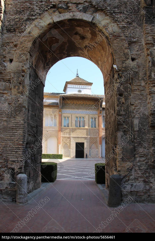 alcázar, von, sevilla - 5656461
