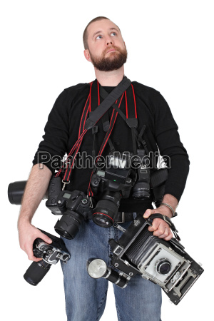 ernsthaften fotografen