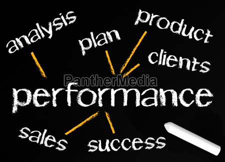 performance business concept