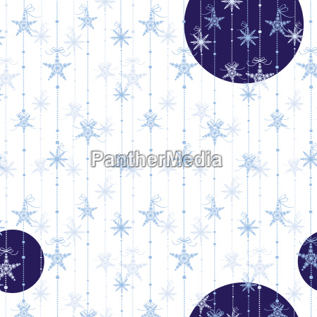 abstract sparkling snoflakes seamless pattern wallpaper
