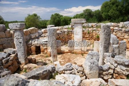 praehistorische stadt ruine