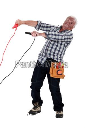 bauen unfall kabel schaltung ampere stromleitend