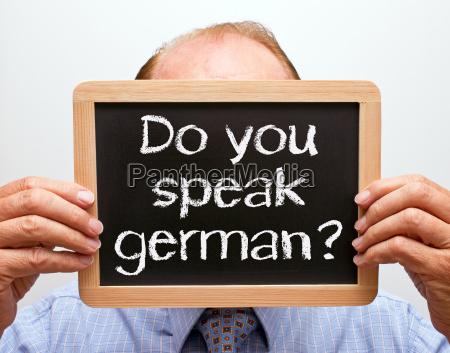 do you speak german