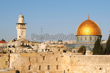famous dome on the rock mosque