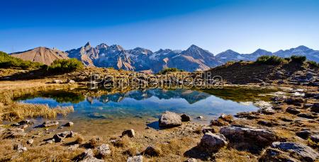 der guggersee vor den schoensten bergen