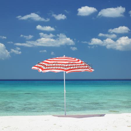sonnenschirm maria la gorda beach provinz
