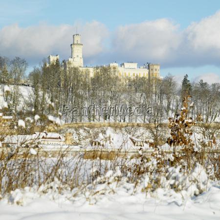 schloss hluboka nad vltavou tschechische republik
