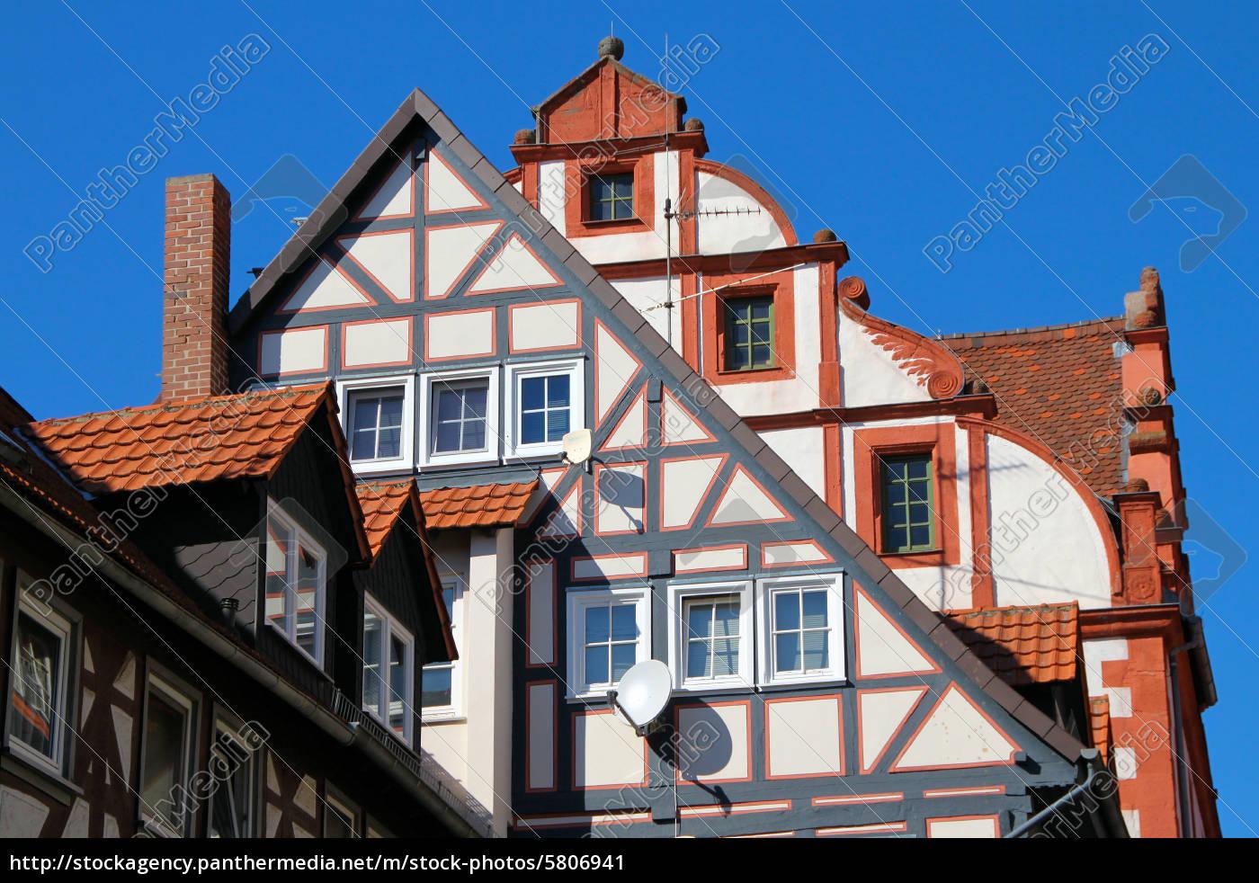 Giebel und dachformen stockfoto 5806941 bildagentur panthermedia - Dachformen architektur ...