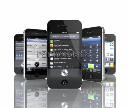 sammlung von 5 apple iphone 4s