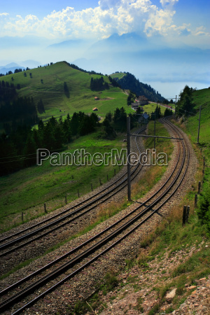 tram tracks in switzerland