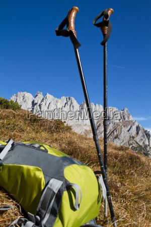 bergwandern im zahmen kaiser tirol OEsterreich