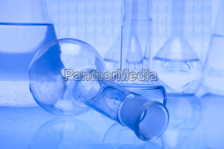 chemistry and laboratory glassware