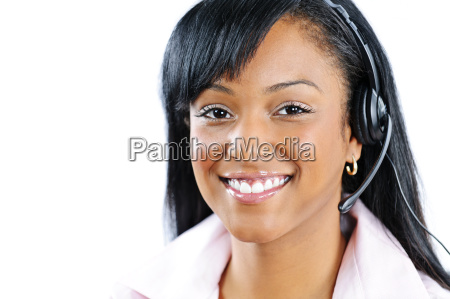 customer service and support representative with