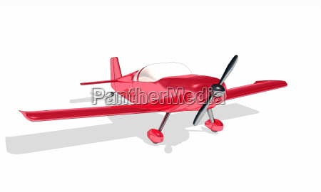 clipart rotes flugzeug