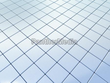 blue tile background
