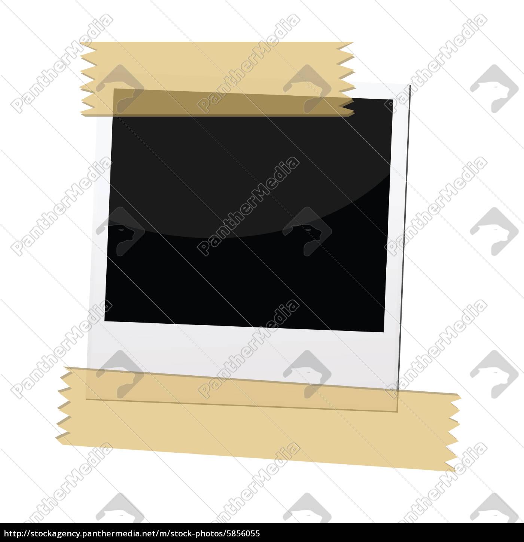 polaroid bilderrahmen - Lizenzfreies Bild - #5856055 - Bildagentur ...