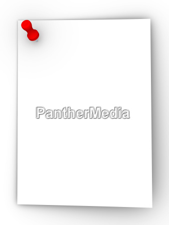 sticky note red pin