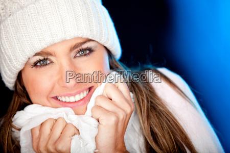 winterfrauenportrait