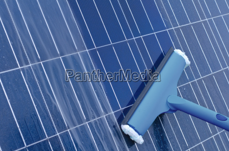 cleaning of solar modules