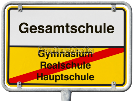 yellow white sign clipping path