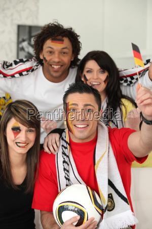 deutsch fussball fans
