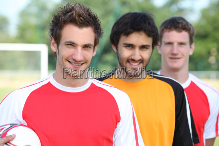 lads at football pitch