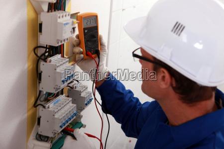 elektrische inspektor leseleistung