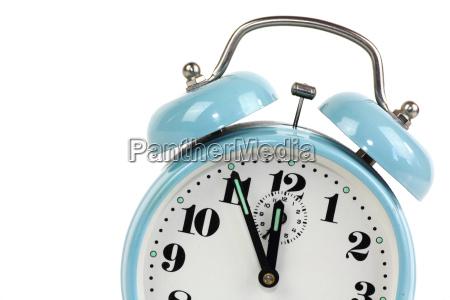 alarm clock blue optional