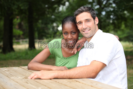 portrait of a couple in the