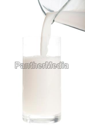 auslaufende milch