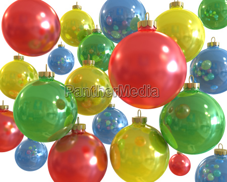 background of multiple color christmas shiny