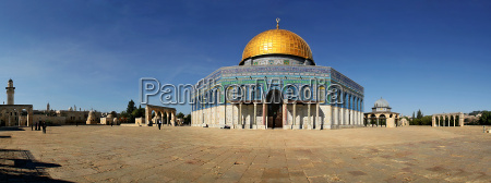 panoramic view on famous dome on
