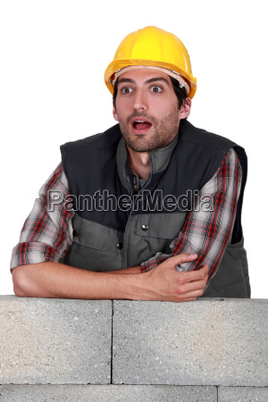 a dumbfounded mason