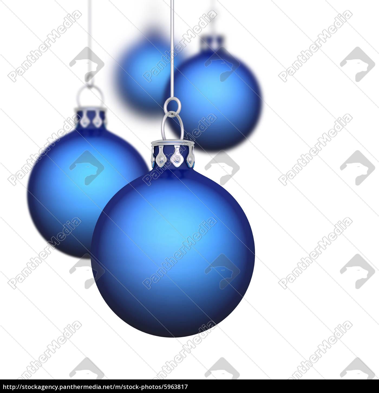 Weihnachtskugeln Blau.Stockfoto 5963817 Weihnachtskugeln Hintergrund 11 Blau