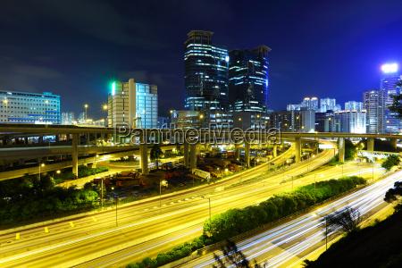 nacht stadtverkehr