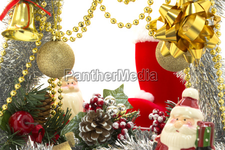 weihnachten luxusrahmen