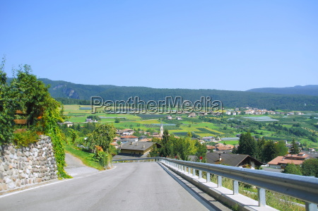 road to castelfondo