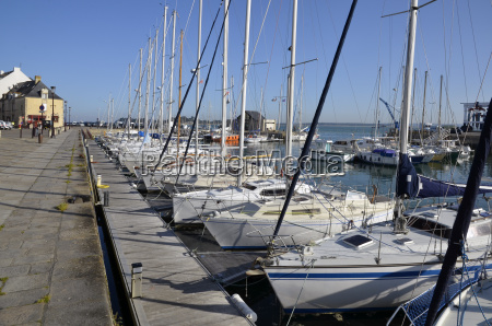 port of le croisic in france