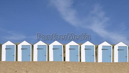 beach hut in vendee in france