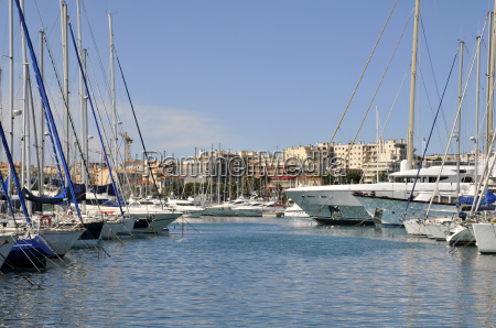 port of antibes in france