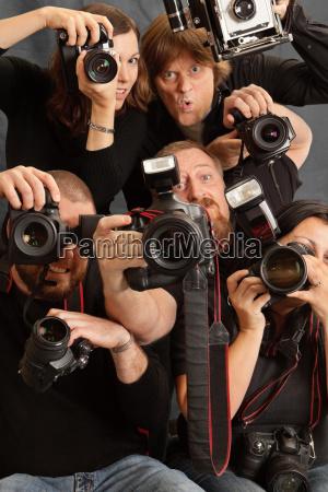 zu viele fotografen
