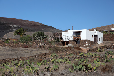 rural house on canary island lanzarote