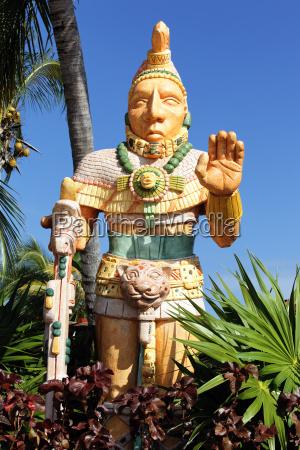 mexikanische statue