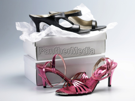 two pair of the high heel