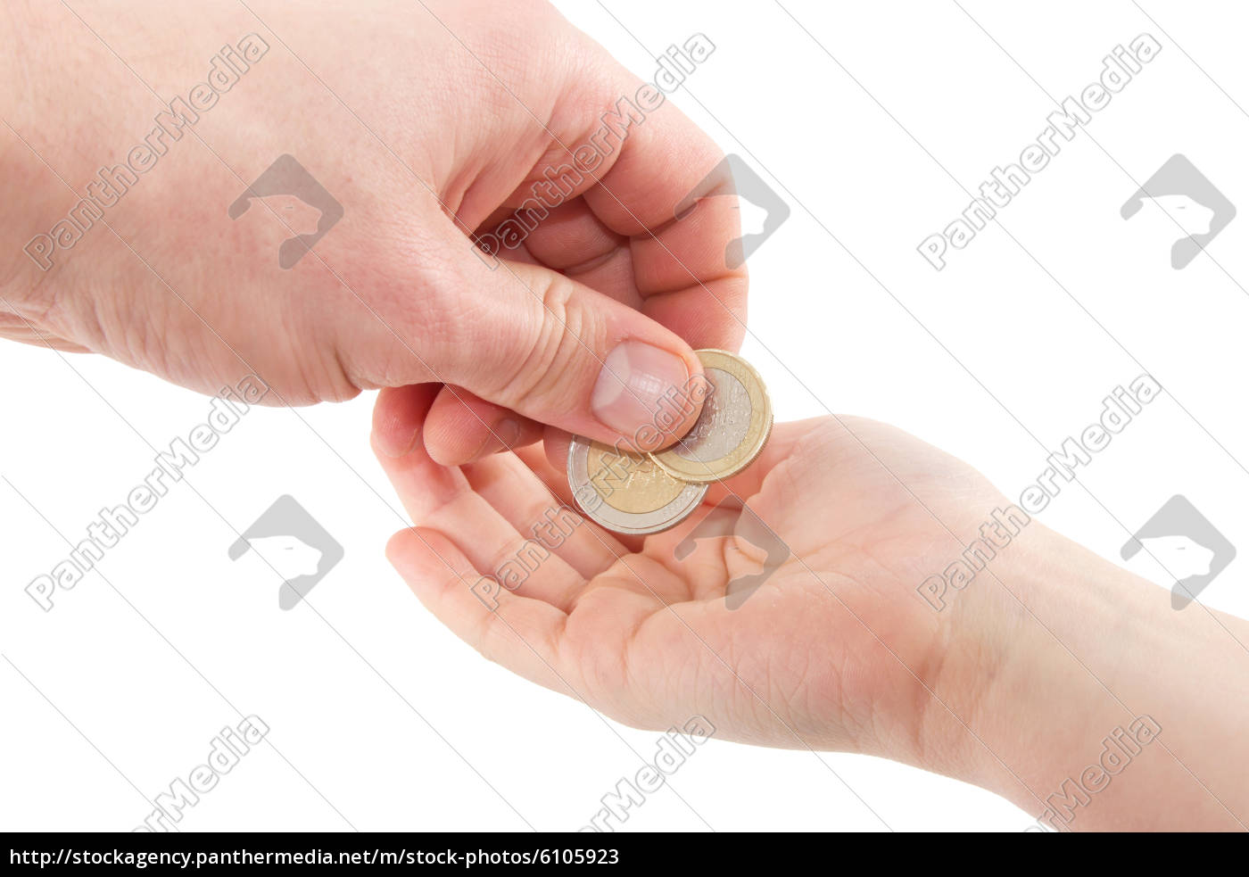 taschengeld, euromünzen - 6105923