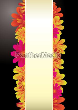 paper tab floral