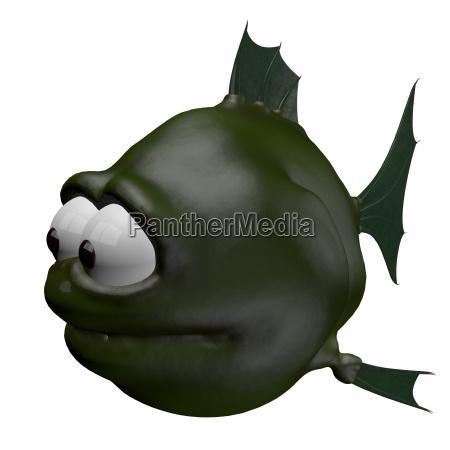 komischer fisch