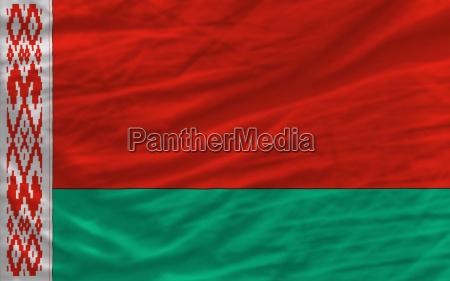 komplette winkte nationalflagge von belarus fuer