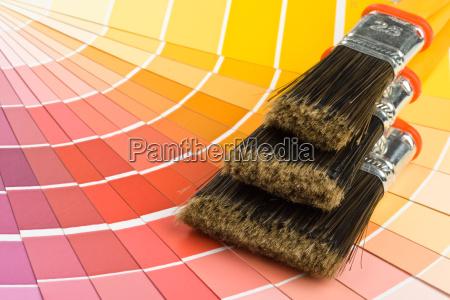 profil werkzeug schaubild farbe closeup zeiger